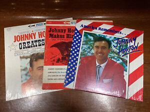 Johnny Horton 3 Vinyl LP Record Lot