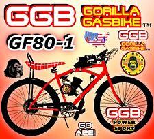 "66cc/80cc 2-Stroke Motorized Bicycle Kit With 26"" Bike Diy Power Motor Bike"