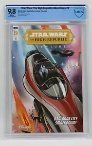 Star Wars The High Republic Adventures (2021) #2 Nathan 1 In 10 CBCS 9.8 WH Pgs
