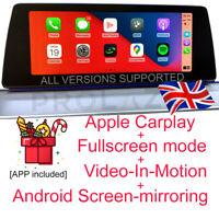 BMW EVO Carplay + Fullscreen + VIM + Android Screen-mirroring ALL VERSIONS UK