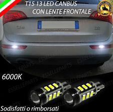 LAMPADE RETROMARCIA 13 LED T15 W16W CANBUS PER AUDI Q5 6000K NO AVARIA