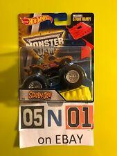 Hot Wheels Monster Jam Scooby-Doo Truck With Stunt Ramp HTF Diecast NEW