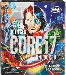 Intel Core i7-10700K Processor 8 Cores with 3.8 GHz(up to 5.1 GHz with Turbo)