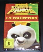 Kung Fu Panda 1 - 3 Collection 3 Boîte DVD Expédition Rapide Neuf & Ovp