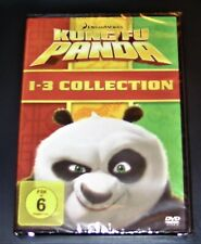 Kung Fu Panda 1-3 Colección 3 Caja De DVD más Rápido Envío Nuevo y Emb. Orig.