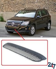 NEW VOLKSWAGEN TIGUAN 2007 - 2011 FRONT BUMPER LOWER CENTER GRILLE BLACK