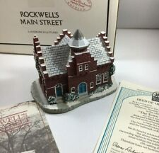 Norman Rockwell's Main Street The Town Offices Landmark Sculptures Boxed 82123