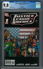 JUSTICE LEAGUE OF AMERICA #1 CGC 9.8 (10/06) DC 2nd print white pages