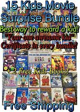 Kids DVD Movies! 15 Great Movies! DISNEY, DREAMWORKS & More Surprise Kids Bundle