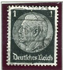 GERMANY;   1934 early Hindenburg issue fine used 1pf. value
