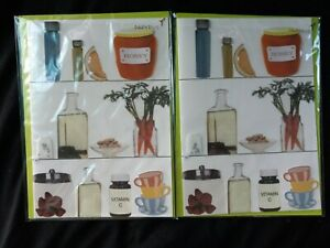 """Papyrus 3D Medicine Cabinet """"Rest Rejuvenate And Be Well"""" Greeting Card 2 count"""