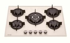 Millar Gh7051Pm 5 Burner Gas on Glass Hob 70cm Beige Cream Terra di Francia
