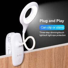 18LED Flexible USB Clip-on Table Desk Bed LED Reading Light Desk Lamp Dimmable