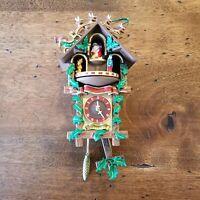 Hallmark Keepsake Time for Joy Music Clock Windup Music Motion 2000 Ornament
