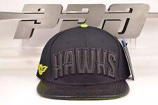 Atlanta Hawks 3M Reflective Logo Black Strapback Pro Standard NBA Hat