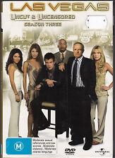 Las Vegas - Season 3 - DVD (PAL Regions 2,4 & 5 Brand New Sealed)