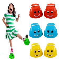 Plastic Walk Stilt Jump Outdoor Fun Sports Balance Training Toys for Kid Baby