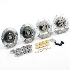 CA RC 1:10 On-Road Racing Car Aluminum Alloy Wheel Rim Brake Disc Set 00145S