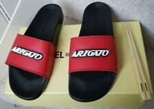 Axel Arigato logo  Sliders / Slides - Red/Black Size UK 11 EU 45