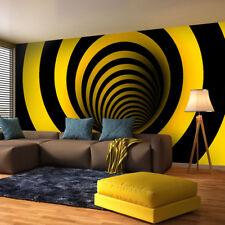 Fototapete Gelb-schwarze Verrücktheit- Tapete Fototapeten Fürs Wohnzimmer FDB127