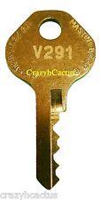 Master Lock Padlock 1525 1585 2010 2076 Control Key OEM Original Master Key V291