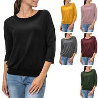 NEU Only Damen Langarmshirt Longsleeve Oversize Look Casual Stretch Color Mix