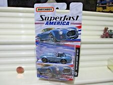 Matchbox 2006 SUPERFAST AMERICA #3 Blue 1965 Shelby Cobra 427 S/C Car New Boxed