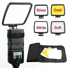 Flash Reflector Diffuser Kit For Canon 600EX 580EX 580EX II 430EX 430EX II 420EX