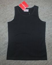 Hanna Andersson Girls Black Tank Top - Size (130) 8 - NWT