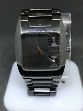 Nixon Mens The Banks Black Stainless Steel 100m Analog Watch (read) #2