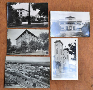 ALGERIA 1954 FIRST DAY POST CARD COLLECTION 12 postcards eight are photocards in