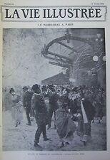 JOURNAL LA VIE ILLUSTREE N° 174 de 1902 THEATRE MARDI GRAS PARIS TELEPHONE
