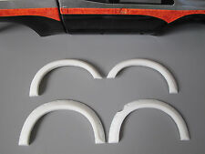 White Rubber Fender Flares Set Toy Tamiya RC 1/10 Toyota Tundra High Lift