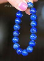 spirituality Meditation 8mm Lapis Lazuli Bracelet cuff Gemstone Stretchy Sutra