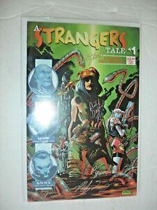 A Strangers Tale #1 (1997 Vineyard Press) 7 AUTOGRAPHS