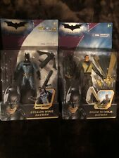 Batman The Dark Knight action figure lot Moc Stealth Wing / Bruce to Ninja