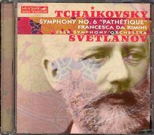 TCHAIKOVSKY - Symphony 6 / Francesca Da Rimini - Evgeny SVETLANOV - Melodiya