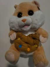 Peek A Boo Hamster Plush Cookie Big Eyes 15""