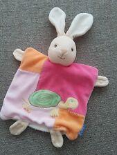 Kaloo Baby Comforter Blanket Lapin Pink Bunny Rabbit Tortoise Doudou Soft Toy