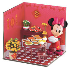 "Rare! Miniature UML Mimo Disney Minnie ""Healthy New Year"" - Limited Edition"