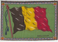 [42940] VINTAGE TOBACCO FELT OF THE FLAG OF BELGIUM