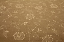 Colefax And Fowler - Fairfield Natural Embroidered Linen (RRP £130/m) - 45% OFF