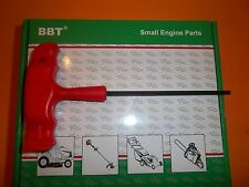 NEW BBT  TEE HANDLE ALLEN WRENCH 4MM FITS ECHO CHAINSAWS / TRIMMERS  198464