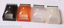 "Honeywell Colored Flash Attachment Set 1.5x2.5"" ND DIFF Day Soft - USED EX+ D11"