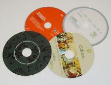 100 CD o DVD PERSONALIZZATI vergini STAMPA SERIGRAFICA UV a colori in spindle