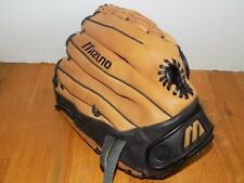"Mizuno Ballpark GBP 1252 12.5"" Leather Baseball RHT Glove Professional Model"