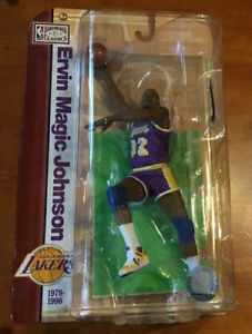 2009 Earvin Magic Johnson McFarlane Hardwood Classics Basketball Figure - NIP