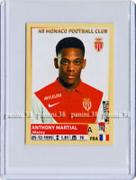 "RARE !! ROOKIE Sticker ANTHONY MARTIAL ""FRENCH FOOT 2014-2015"" Panini"