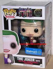 FUNKO POP DC HEROES SUICIDE SQUAD THE JOKER (SUIT) #107 Walmart Exc In Stock