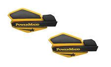 PowerMadd Star Series Replacement ATV Handguards Ski Doo Yellow Black 34201